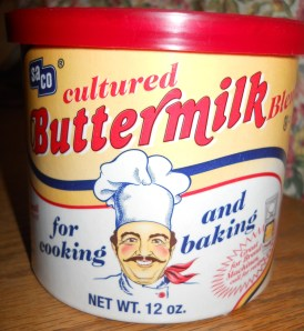 Powdered Buttermilk for Baking