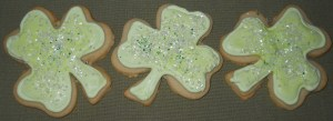 Luck 'O The Irish Cookies