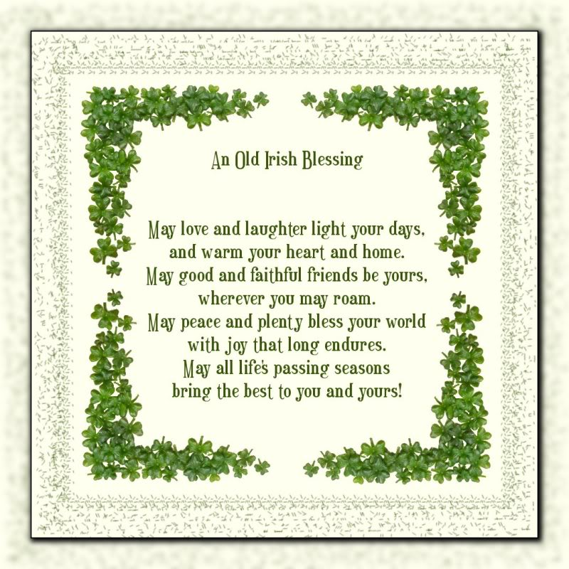 Irish Blessing � Home And The Range
