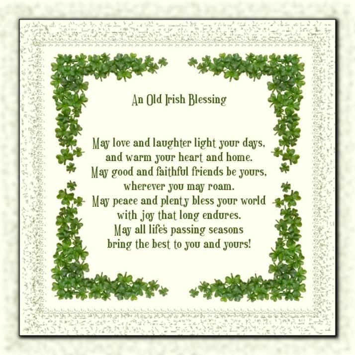 <b>Irish Blessing</b>