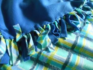 And another fleece blanket...