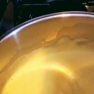 To a creamy custard!